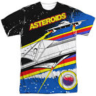 Atari Asteroids Arcade Gamer Allover Sublimation Licensed Adult T Shirt