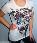 NWT Sexy Colorful FOX RACING RIDERS Contrast RIBCAGE Shirt Top TEE Small S