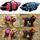 Pet Dog Life Jacket  SAFETY VESTS Coat Summer Swimming Float Aid Buoyancy Colors