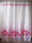 Polyester Waterproof Light Home Bathroom Shower Curtains Partitions Flower Print