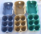 12 mixed colour 1/2 doz CHICKEN EGG BOXES Cartons