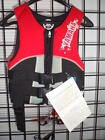 NOS Yamaha Youth Neoprene 2-Buckle PFD Life Vest MAR-07VNE-RD-XS
