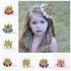 Lovely Baby Girls Toddler Kids Flower Princess Crown Party Headband Hair Band US