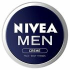 Nivea For Men Skincare Face Body Hands Creme