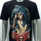 r200 Rock Eagle T-shirt Sz M L XL XXL XXXL Tattoo Sexy Lady Rose Skull Indie Tee