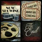 ART PRINT, FRAMED OR PLAQUE - BY MOLLIE B - AT THE MOVIES I - MOL1541