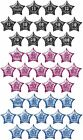 "GLITZ RANGE (3 Colours) 20"" PRISMATIC STAR FOIL BALLOON (Birthday Party/Helium)"