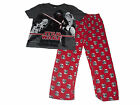Boys Pyjamas Official Star Wars 5-14 Years Old Grey & Red