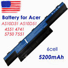 51 battery - Battery for Acer Aspire 4551 4741 7551 AS10D31 AS10D51 AS10D61 Power Supply