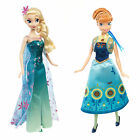 Disney Frozen Birthday Party Doll Dress Frozen Fever Elsa Anna Toys Figures