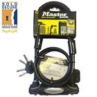 Masterlock Fortum D Lock With 120cm Cable High Security Pick Resistant Bike Lock