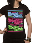 Official Mission District (Neon Logos) Women's Fitted T-shirt - All sizes