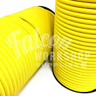 10mm ELASTIC BUNGEE ROPE SHOCK CORD TIE DOWN YELLOW, ROOF RACKS TRAILERS BOATS