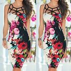 2016  Sexy Women Summer Bandage Bodycon Evening Party Cocktail Short Dress B20E