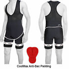 Mens Cycling Bib Shorts Padded Cycle Bicycle Bib Tights Summer Outdoor ANTI-BAC