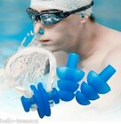 3PCs Adults Pairs Protector For Swimming Silicone Soft Ear Plugs + Nose Clip