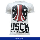 Men's Aliens Prometheus USCM Us Colonial Marines T-shirt *Print Sample*