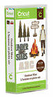 New* OUTDOOR MAN Hunt Fish Camp Font Cricut Cartridge Factory Sealed Free Ship