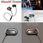 Original MacaW T1000 Bluetooth Stereo Earphone In-ear Earbud Sweatproof HOT U6Q6