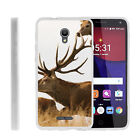 For Alcatel POP 4+ Slim Fitted Flexible TPU Case Animals