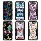 For Galaxy Note 7/N930 NATURAL TUFF Hybrid Rubber Hard Case Black Black 1Colors