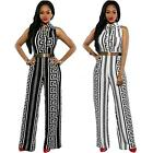 Sexy Womens Long Pants Bodycon Jumpsuit Romper Trousers Clubwear Plus Size V9B8