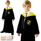 Hufflepuff Harry Potter Fancy Dress Childrens World Book Day Boys Girls Costume