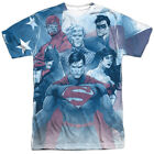 Justice League United Sublimation Licensed Adult T Shirt image