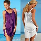 Large Size Summer Casual Sleeveless Evening Party Beach Dress Short Mini Dress