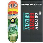 "GIRL Skateboard Deck KOSTON FILLMORE 8.25"" with GRIZZLY GRIPTAPE"