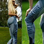 Women Sports Gym Yoga Running Fitness Leggings Pants Jumpsuit Athletic Clothes