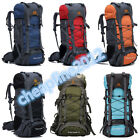 Newest Extra Large 70 Outdoor Travel Camping Hiking Rucksack Backpack Bag UK