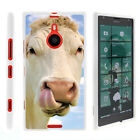 For  Nokia Lumia 1520 Case Hard Snap On 2 Piece Slim Shell Silly Animals