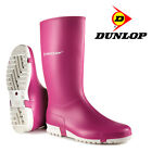 Ladies Dunlop Wellies Girls Boots Rain Garden Farming Work Winter Shoes UK Size
