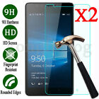 2X Tempered Glass Screen Protector Film For Microsoft Nokia Lumia 640 650 1520