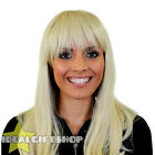 HEAT AND STYLE WIGS STRAIGHT BLONDE HEAT RESISTANT HAIRPIECE FANCY DRESS WIG