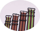 18mm 20mm 22mm 24mm black red green Nylon watch strap watch band BLACK buckle