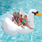 Inflatable Leisure Giant Unicorn/Swan Float Rideable Raft Swim Pool Celebrity