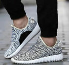 Mens Yeezy Style Boost Gym Trainers Fitness Sports Running Shock Casual Shoes BK