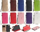 Embossing Dandelion Strap Wallet Card Leather Case Cover For Iphone Samsung TX