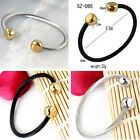 Simple Design New 316L Stainless Steel Men Wrap Wristband Cable Wire Cuff Bangle