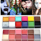 12 Colors Face Body DIY Painting Oil Art Make Up Set Kit Halloween Cosmetic