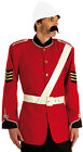 MENS ZULU VICTORIAN BOER WAR BRITISH SOLDIER COSTUME OUTFIT ADULT RED UNIFORM