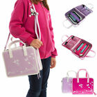 UltimateAddons Girls Travel Vinyl PU Storage Handbag Case for Leapfrog LeapPad 3
