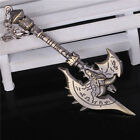 Hot World of Warcraft Weapon Model Metal Keychain Key Ring Pendant Cospaly Props