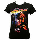 Authentic UNIVERSAL MONSTERS New Wolfman Juniors Girls T-Shirt S-2XL NEW