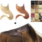 """Halo Style Remy Human Hair Invisible Wire Hair Extension Hair On A Wire 24""""-30"""""""