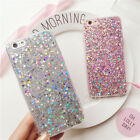 Fashion Bling Glitter Dots Silicone TPU Soft Case Cover For iPhone 5/6/6s Plus
