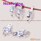 10 PCS Buddhist Tibetan Silver Carved Amulet Pendants Beads For Jewelry Making