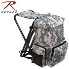 Folding Stool Backpack Combo Pack Camp Stool Hunting Stool w/ Buit-In Backpack